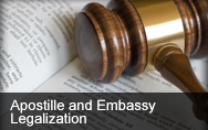 Apostille and Embassy