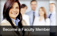 Become a Faculty Member