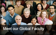 Meet our Global Faculty
